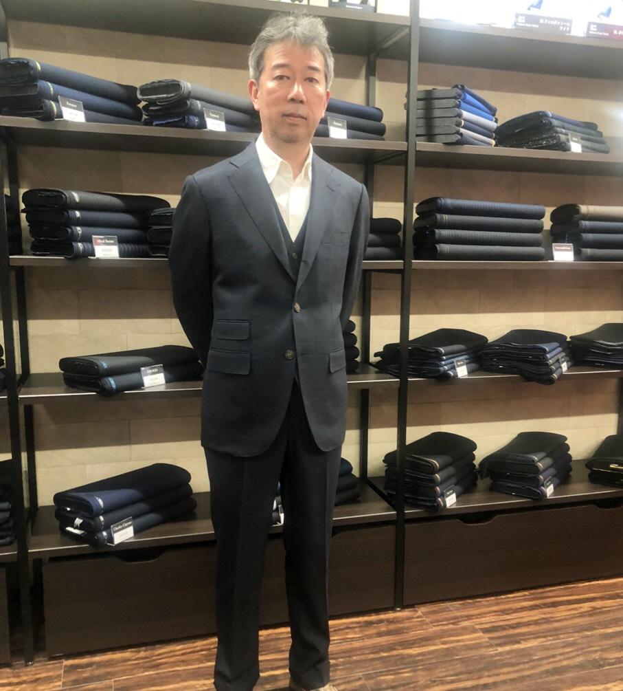 福岡オーダースーツ専門店